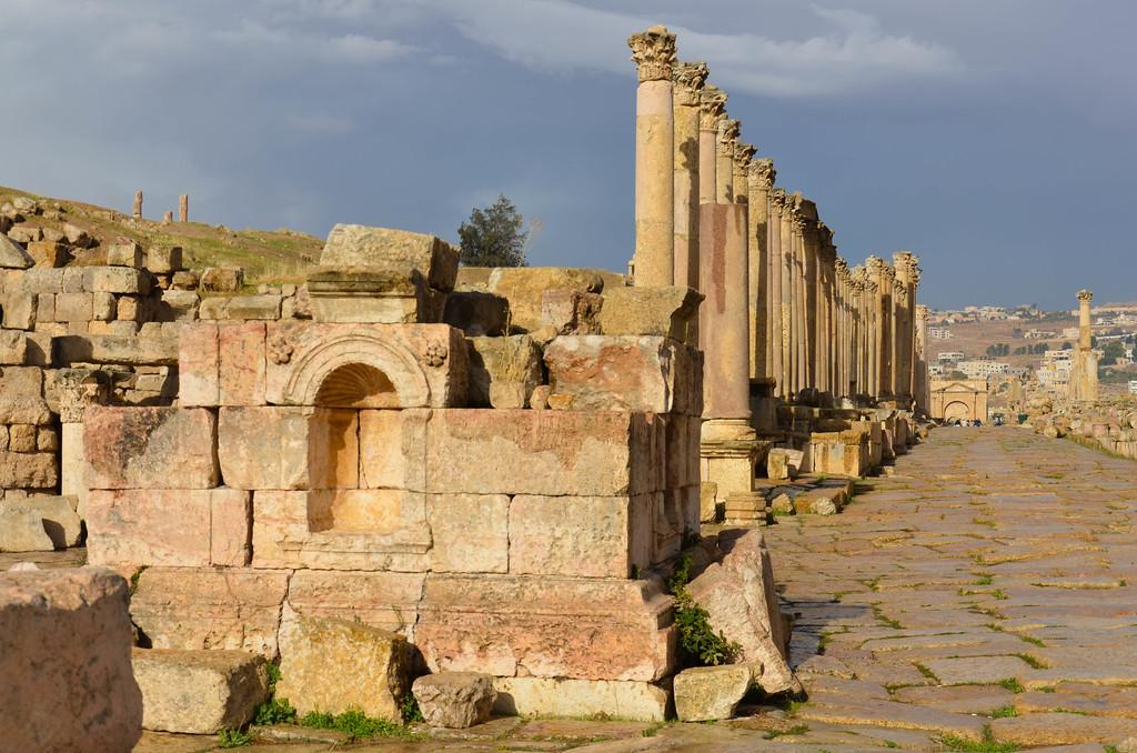 Cardo, Jerash