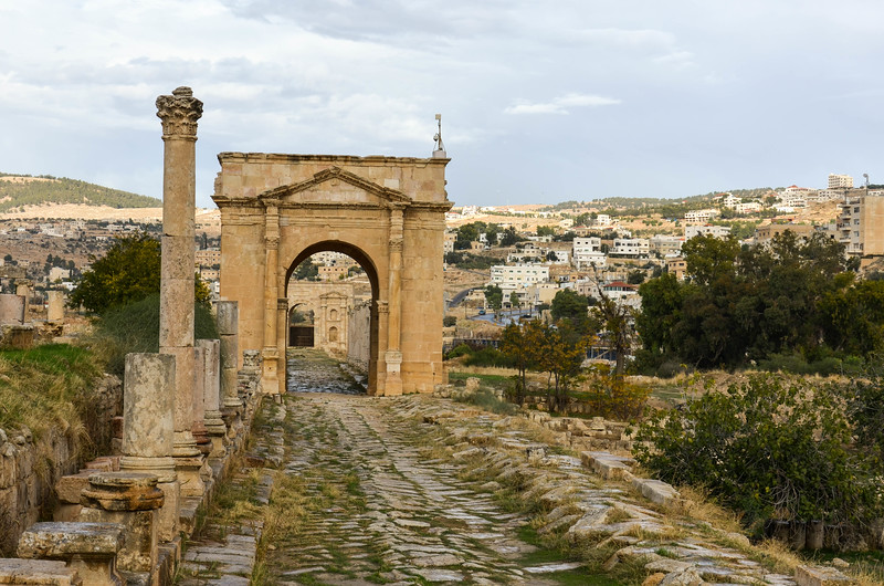 North Tetrapylon, Jerash