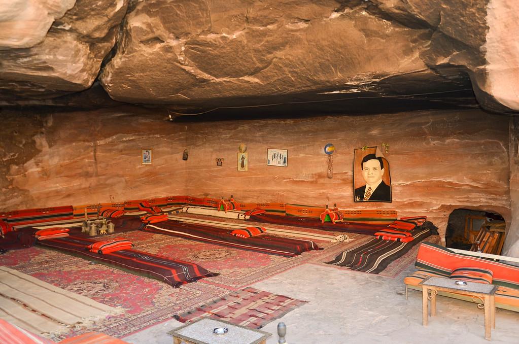 Bedouin Café, Monastery, Petra