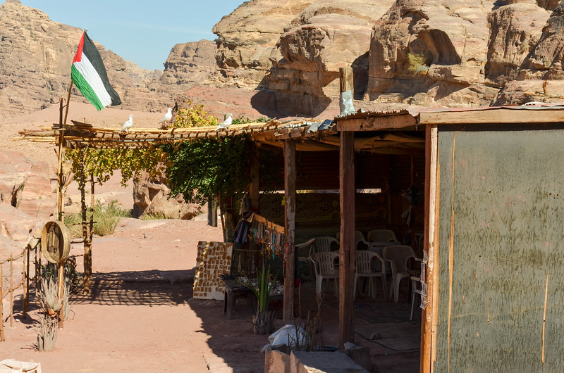 Bedouin Tea Shop, Petra