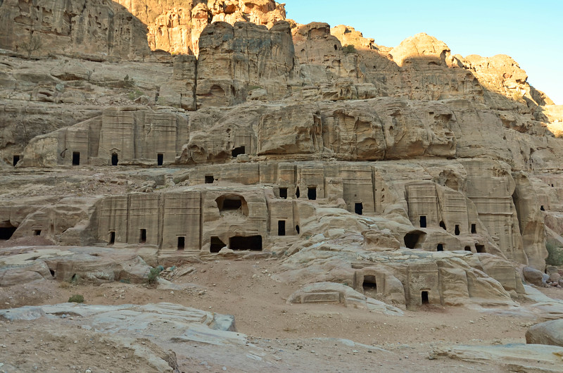 Street of Façades, Petra