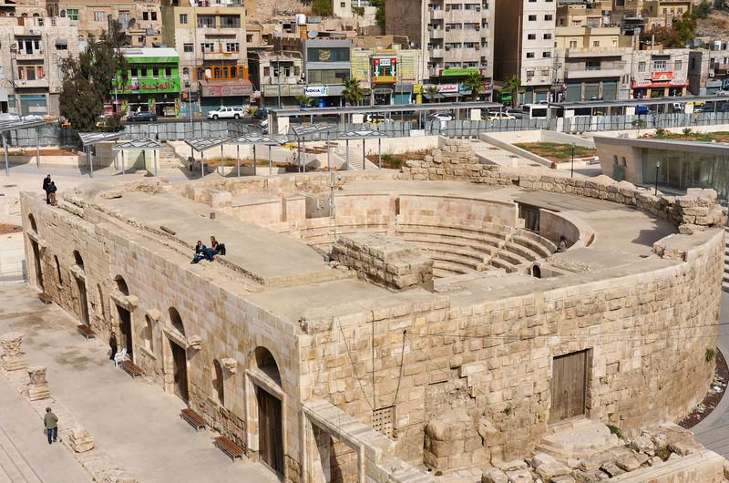 The smaller theatre.