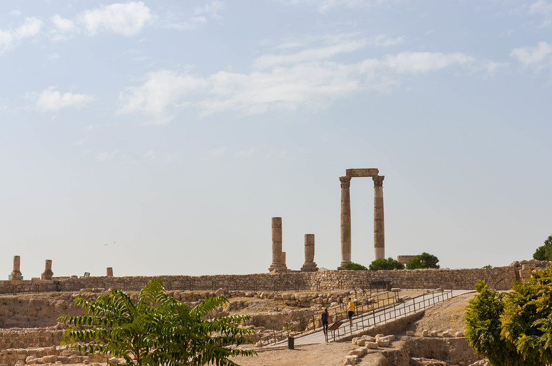The Amman Citadel and Temple of Hercules.