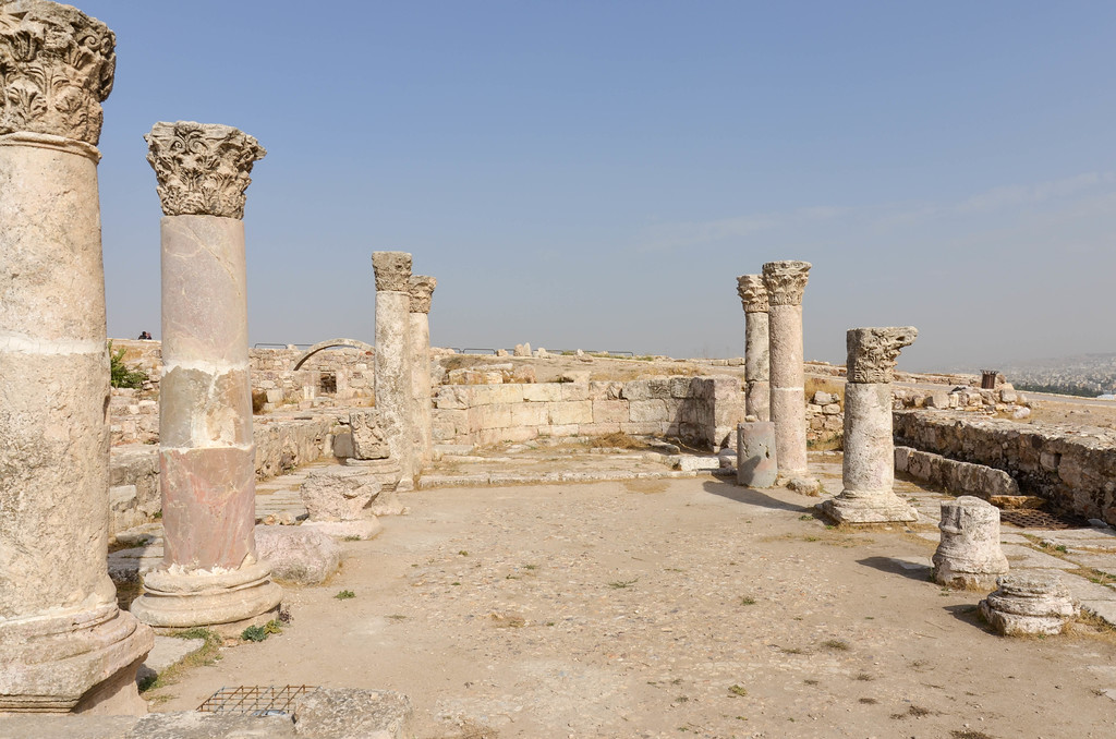 Ruins of the Byzantine Church.