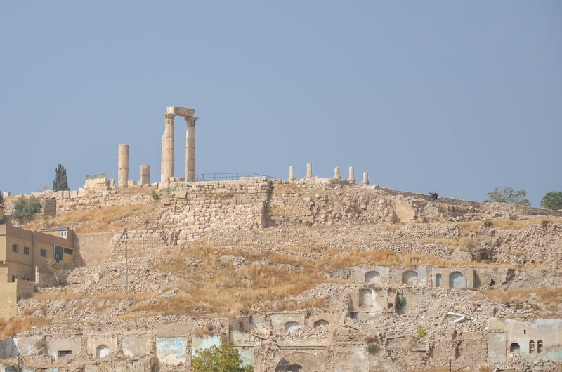 The Citadel and Temple of Hercules, as seen from the Roman Theatre.