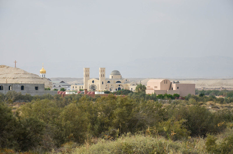 Churches under construction at Bethany Beyond the Jordan.