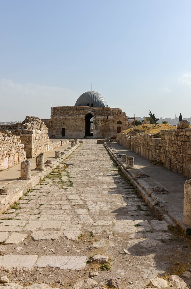 The Colonnaded Street and Umayyad Place Gateway.
