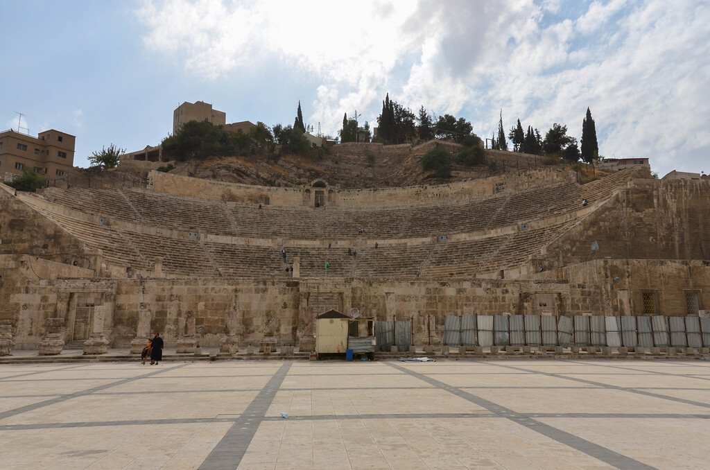 Amman's Roman Theatre.