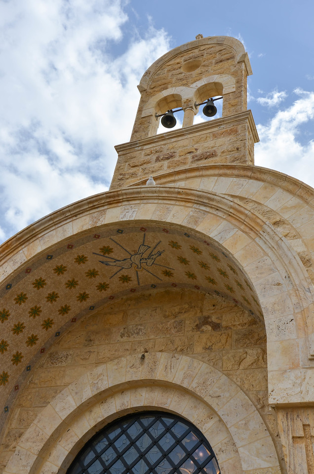 Greek Orthodox church at Bethany Beyond the Jordan.