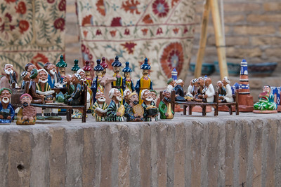 Miniature figures in Khiva