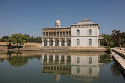 Summer palace in Bukhara