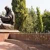 Crying mother in Tashkent