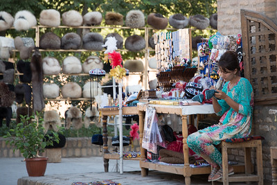 Souvenirs in Khiva