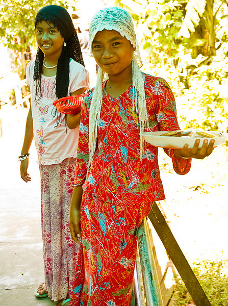The Cham people are Islamic.