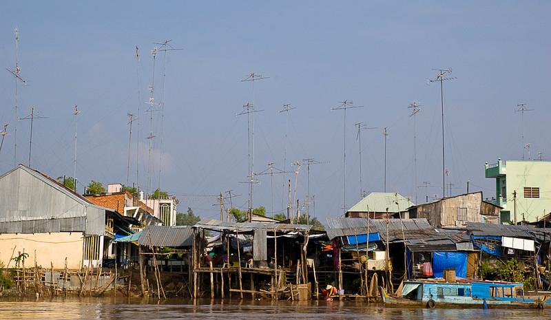 Chau Doc skyline
