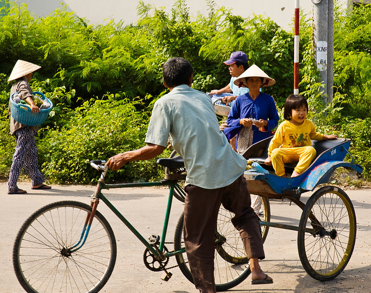 Being a border town, Chau Doc is an significant regional market.