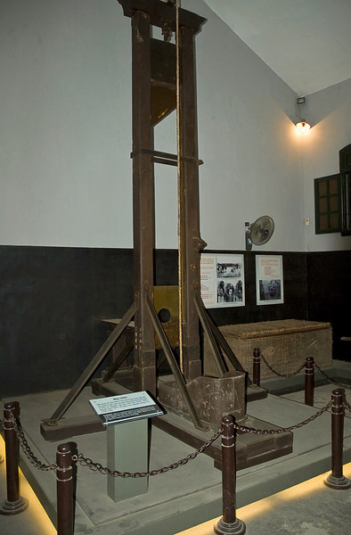 Built by the French in the 1880s, Hoa Lo Prison held 2000 mostly political prisoners by 1954.