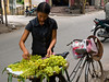 Grape vendor, Hanoi side street