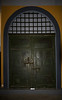 """Main door, Hoa Lo Prison which was called by the American POW's """"the Hanoi Hilton."""""""
