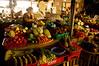 Central market vegetable stall
