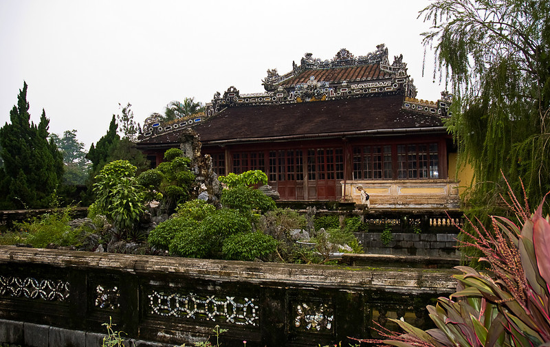 Imperial Purple City of Hue was the residence of the Imperial family; commoners were excluded.