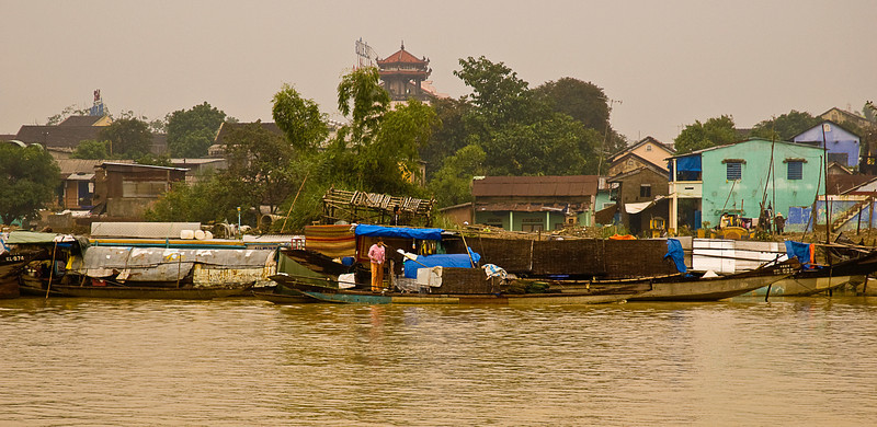 On the Perfume River, Hue