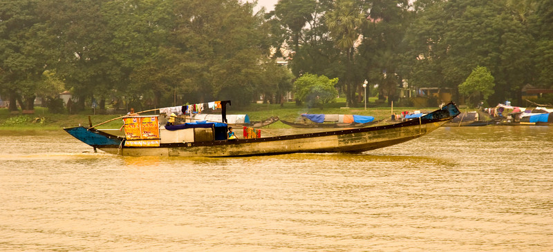 Houseboat on the Perfume River, Hue