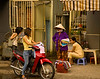 If you took away all the little stools and motorbikes, life in Saigon would grind to a halt.