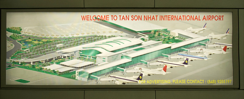 It is still Tan Son Nhut Airport (spelling may differ).