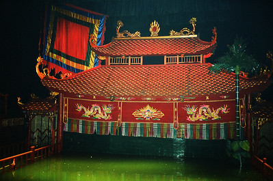 Thang Long water puppet theatre, Hanoi, Vietnam 2005