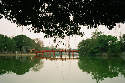 Hoan Kiem Lake, Hanoi, Vietnam 2005