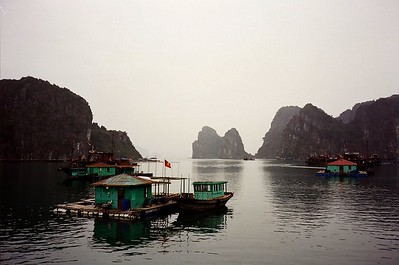 Living on Halong Bay, Vietnam 2005