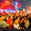 Vietnam - Hanoi - Hà Nội - People Celebrating Country Victory in Football Competition