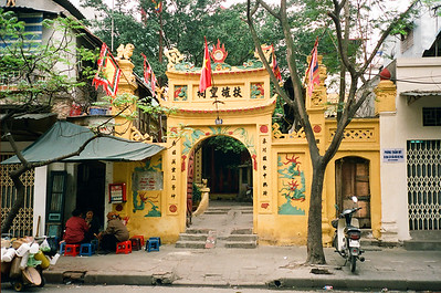 Temple in Hanoi, Vietnam 2005