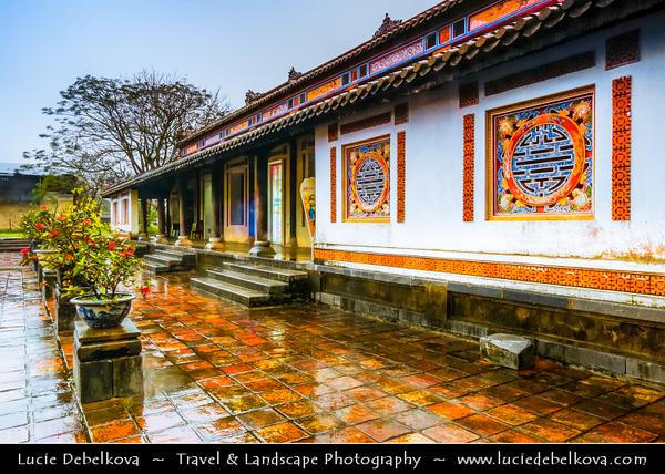 Vietnam - Hue - Huế - 化 in chữ Nôm - UNESCO World Heritage Site - Forbidden City