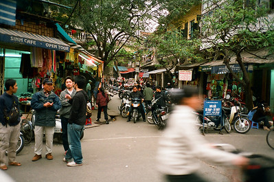 3 million motorcycles in Hanoi, Vietnam 2005