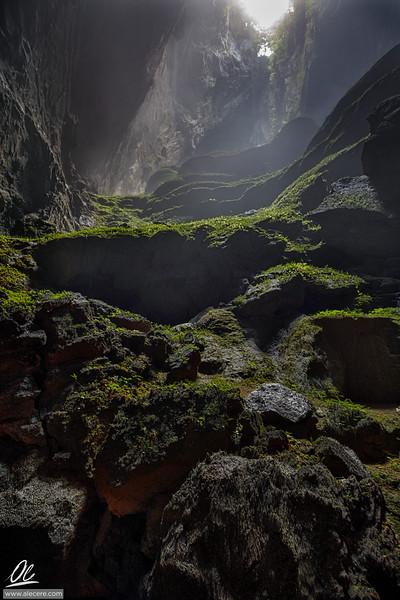 Natural Stairway
