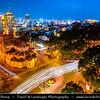 Vietnam - Ho Chi Minh City - Thành phố Hồ Chí Minh - Saigon - Sài Gòn - Saigon Notre-Dame Basilica - Vương cung thánh đường Đức Bà Sài Gòn - Nhà thờ Đức Bà Sài Gòn) - Cathedral located in the downtown of the city