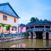 Vietnam - Hoi An - Hội An - Charming Little Riverside Ancient Town famed for its beautiful old buildings, its narrow, quiet streets - Exceptionally well-preserved example of a South-East Asian trading port dating from the 15th to the 19th century