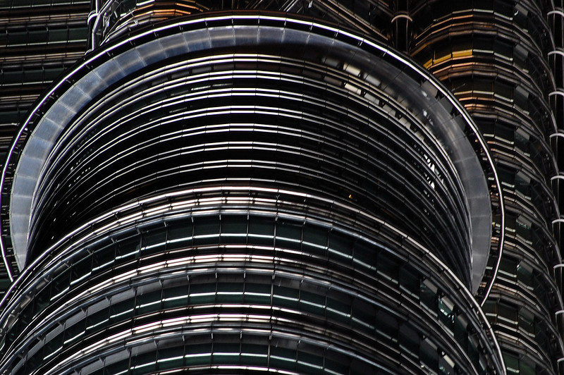 Petronas Towers detail #1