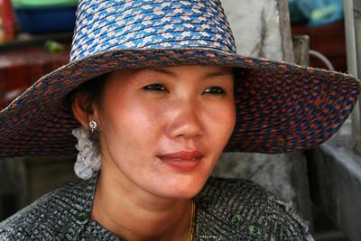 Vendor in Cambodia