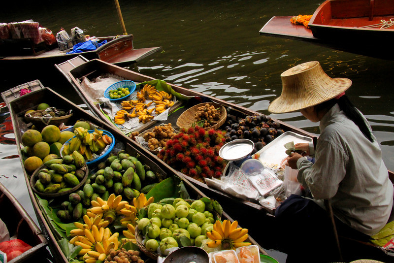 Fruit Boat  - Thailand