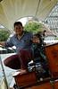Longtail river boat driver, Bangkok