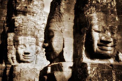 Faces of Bayon - Ankor Wat, Cambodia