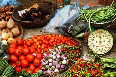 Market Food in Luang Prubang, Laos