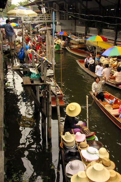 Floating Market Side  - Thailand