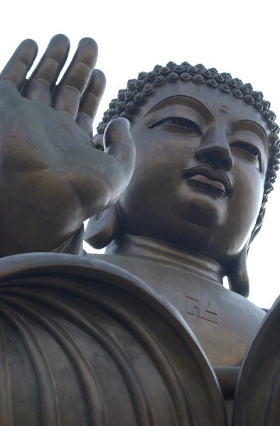 Po Lin Buddha near Hong Kong