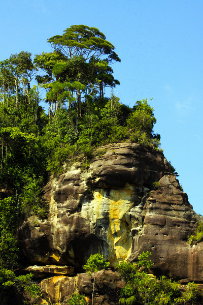 Sea Cliffs - Borneo