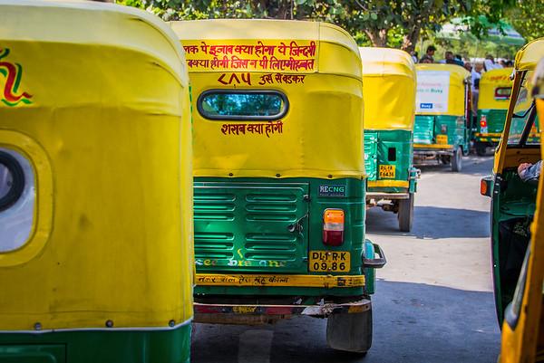 Delhi Rush Hour