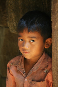 Young boy at Siem Reap, Cambodia